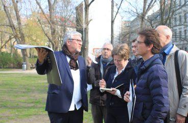 press tour group