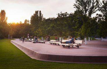 Parc at Gleisdreieck Landscape Architecture