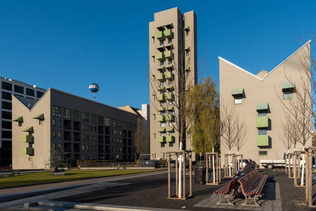 Kruzberg Tower John Hejduk Housing Berlin