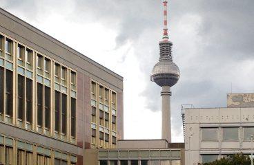Alexanderplatz und Staatsratsgebäude
