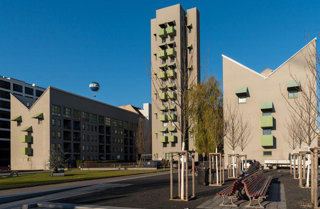 John Hejduk Wohnbauten Kreuzberg