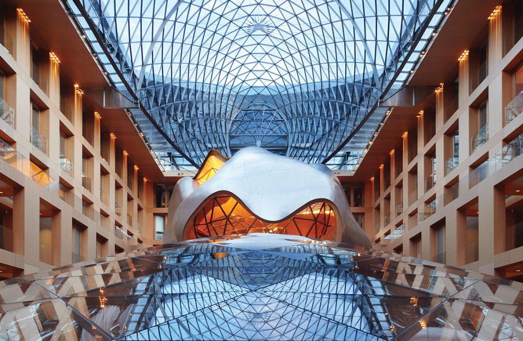 Frank Gehry Berlin DZ Bank