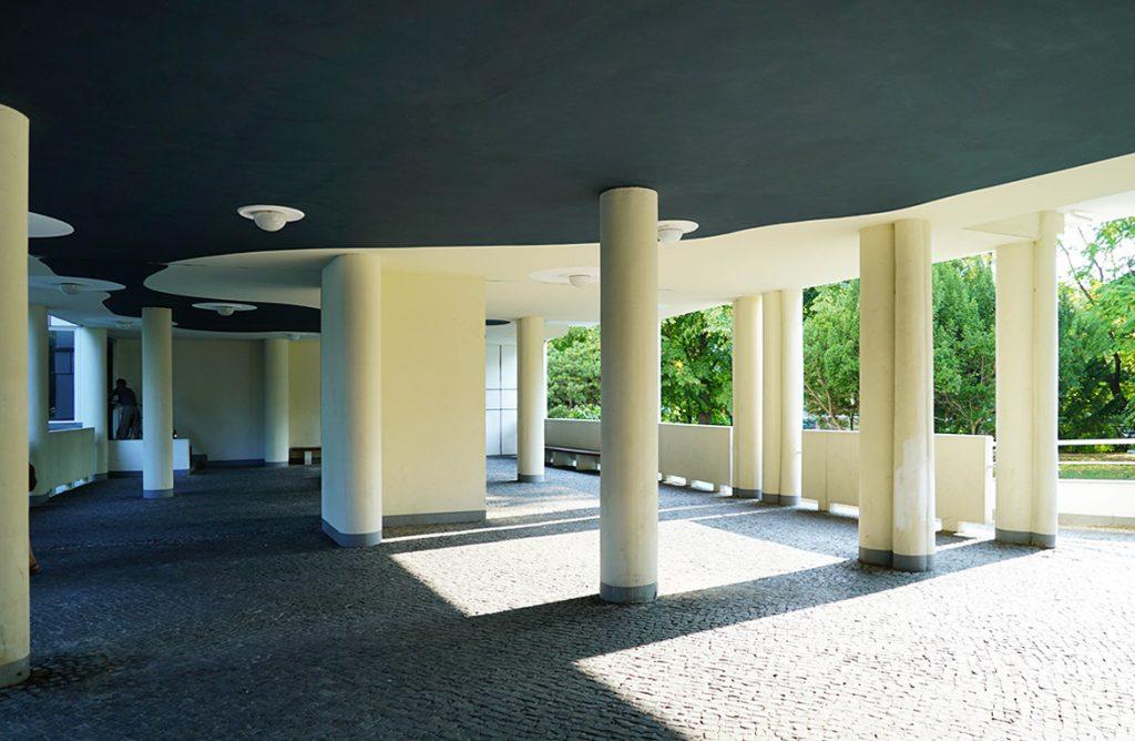 Hansaviertel Eingang Alvar Aalto