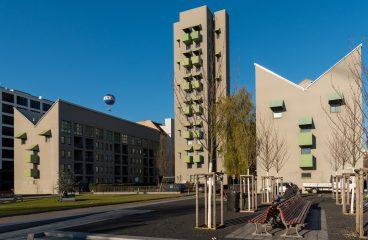 Wohnungsbau Kreuzberg Wohnturm John Hejduk IBA 87